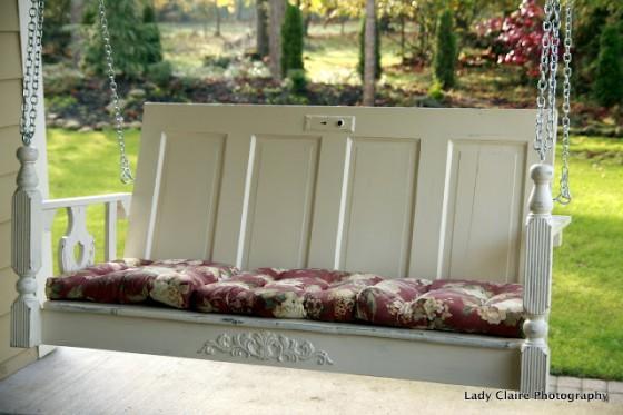 How To Repurpose Furniture repurposed furniture swing - 8 amazingly perfect diy porch swings…