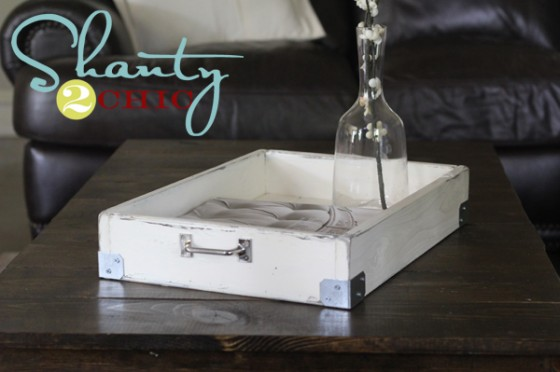 how to make a wooden tray