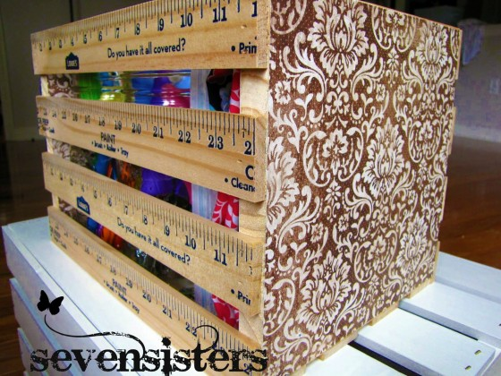 Crate 14 diy yardstick upcycling projects that rule for Diy upcycling projects