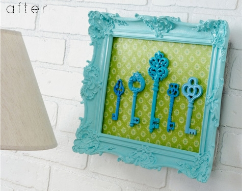 Gentil This DIY Skeleton Key Home Decor Idea Is For Making Key Art As Well But It  Looks Different From The Ones Featured Above. Unlike The Other Framed Key  Ideas ...