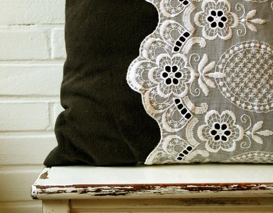 Diy Lace Pillowcase: Lace Pillow Case   12 Gorgeous DIY Lace Crafts     …,