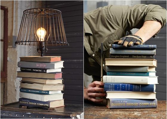 Lamp Base 12 Wonderful Ways To Upcycle Books
