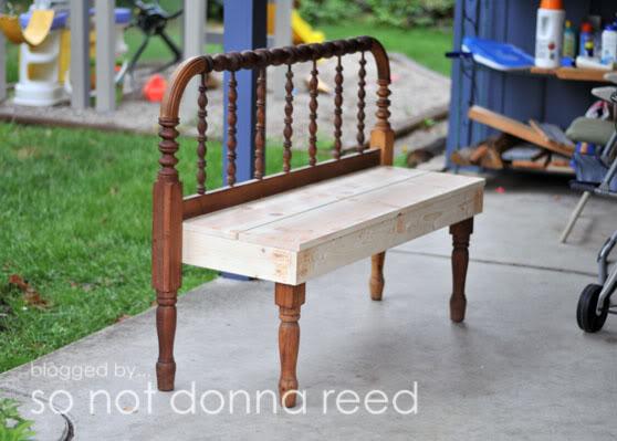 Headboard Bench 10 Beautiful DIY Benches Lifestyle