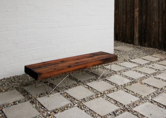 Fence Bench 10 Beautiful DIY Benches Lifestyle
