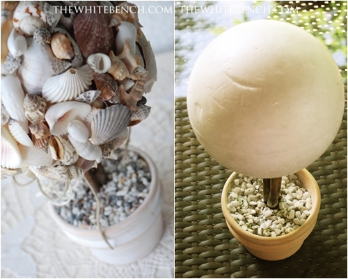 Tree 10 beautiful diy shell decor projects lifestyle Diy home decor with shells