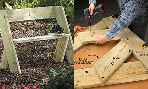 ... Simple Outdoor Bench Diy Download simple end table plans | woodideas
