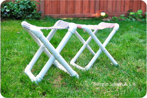 Camp Chairs 12 Brilliant Pvc Pipe Diy Projects