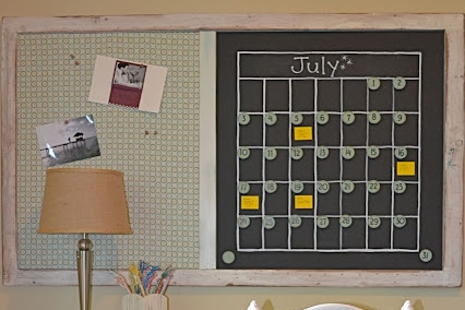 DIY Memo Board from Vintage Cooling Racks