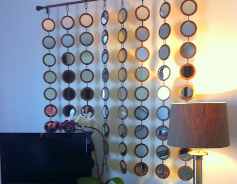 Bathroom decor shower curtains - Curtain 10 More Crafty Mirror Makeovers Lifestyle