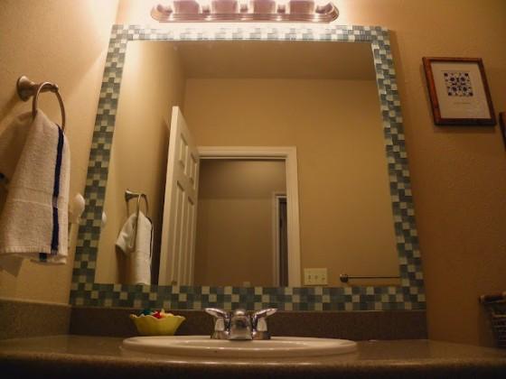 Diy Mosaic Tile Bathroom Mirror: 9 Magnificent DIY Mirrors ... Lifestyle