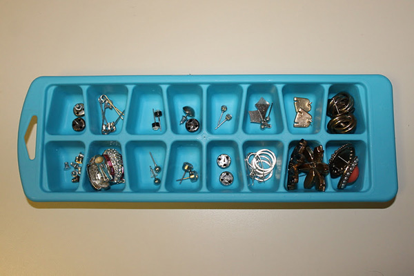 Ice Cube Trays for Storage