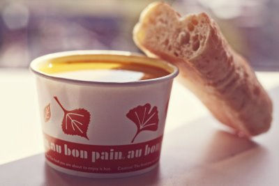 Au bon pain is getting into the autumn spirit by offering two seasonal