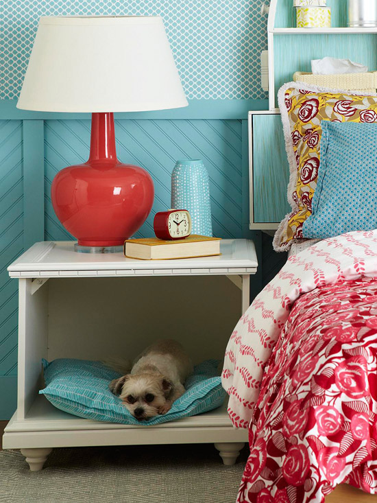 7 unique items of home decor for pets lifestyle for Pet bedroom ideas