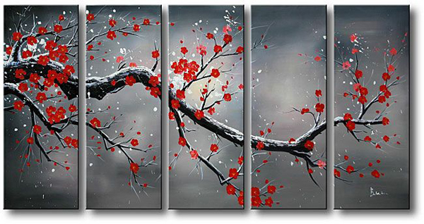 Separate canvas art 7 beautiful art pieces for your home - Separation decorative entre 2 pieces ...