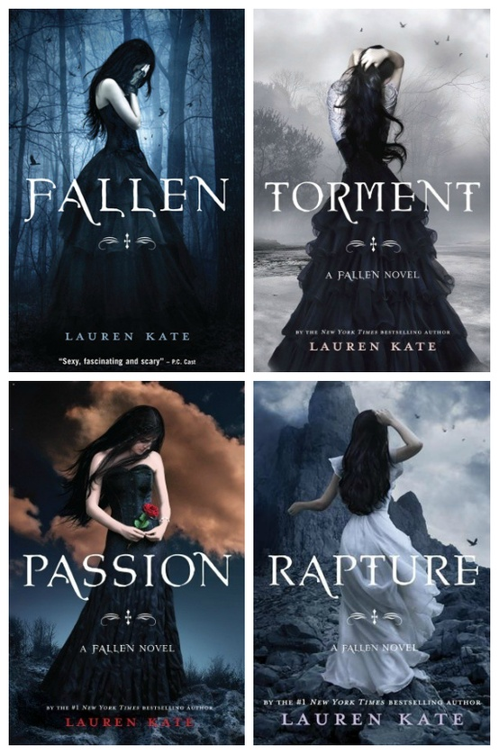 Fallen Series by Lauren Kate - 7 Young Adult Fiction ...