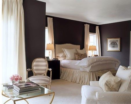 Dark Walls 8 Gorgeous Bedroom Color Schemes – Dark Walls Bedroom