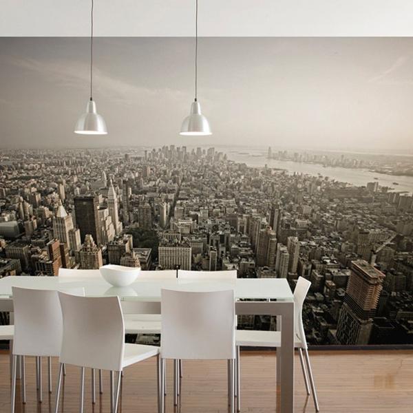 new york wall muralrobert harrison - 7 cool wall murals to add…