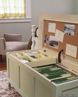 File Cabinet Bench - 10 Unique Ways to Organize Your Home ... …
