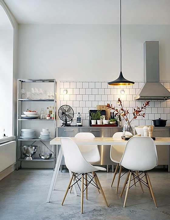 Minimalist 7 gorgeous kitchen designs you 39 ll love for Industrial minimalist design