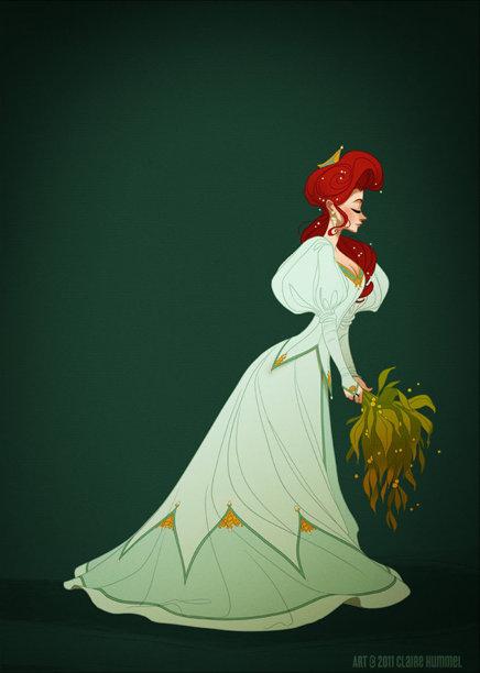 7 Dessins étonnants De Princesses Disney Historiquement
