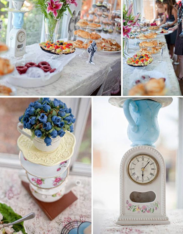 Mad Hatter Tea Party - 7 Fantastic Bridal Shower Themes ...