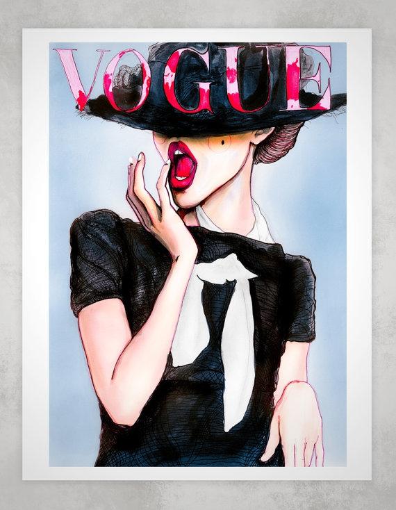 10. Frida Gustavsson Vogue Cover