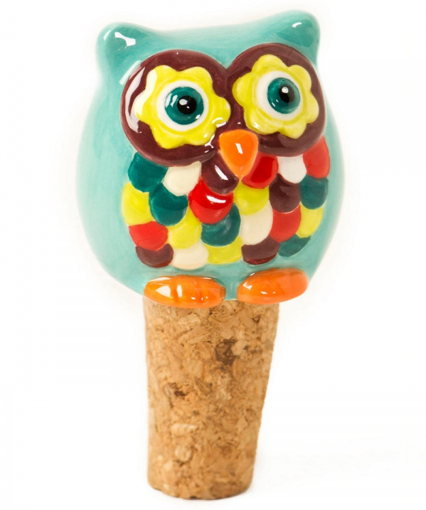 Owlet Wine Stopper - 7 Adorable Owl Housewares for a Ridiculously ...