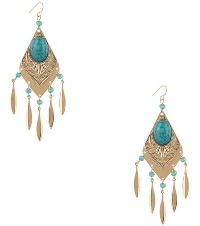 Forever21 Vintaged Chandelier Earrings