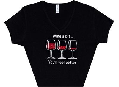 Wine a Bit Women's Tee