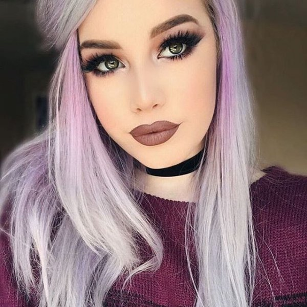 hair, human hair color, color, face, pink,