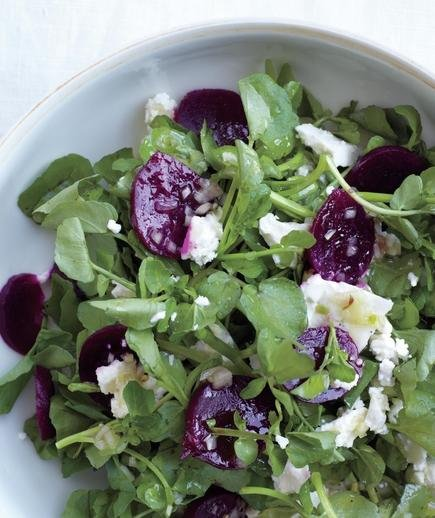 Roasted Pear, Feta, Watercress And Hazelnut Salad Recipes — Dishmaps