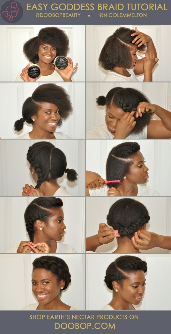 Goddess Braid 67 Crushworthy Natural Hair Ideas From