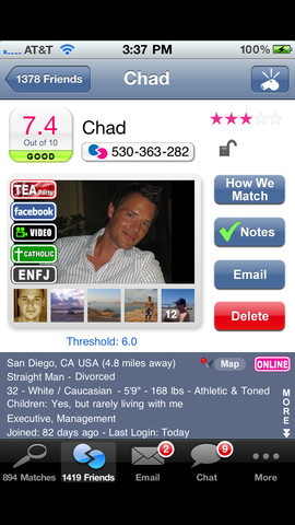 tingle dating app android