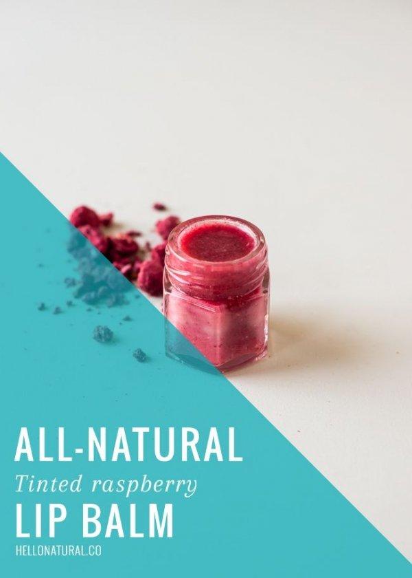 Tinted Raspberry Lip Balm