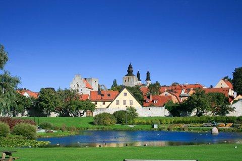 Visby in Gotland, Sweden