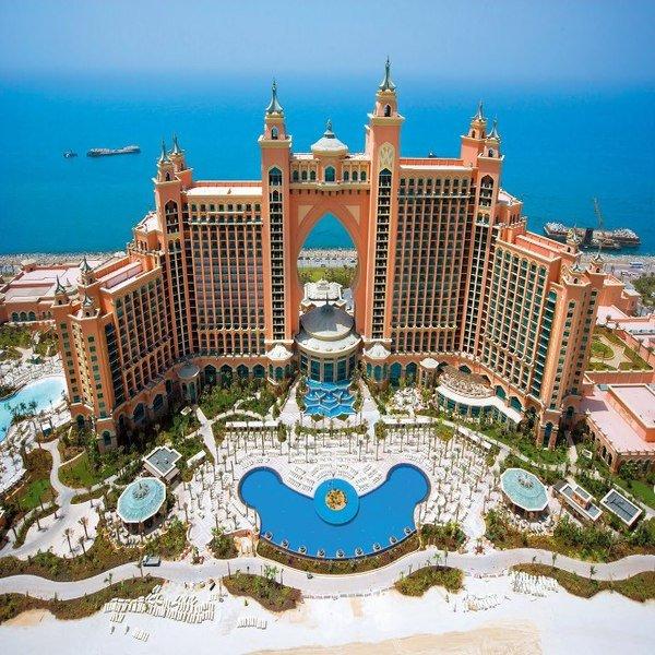 Atlantis la palma dubai 8 hoteles bajo el agua que no for Imagenes de hoteles bajo el agua