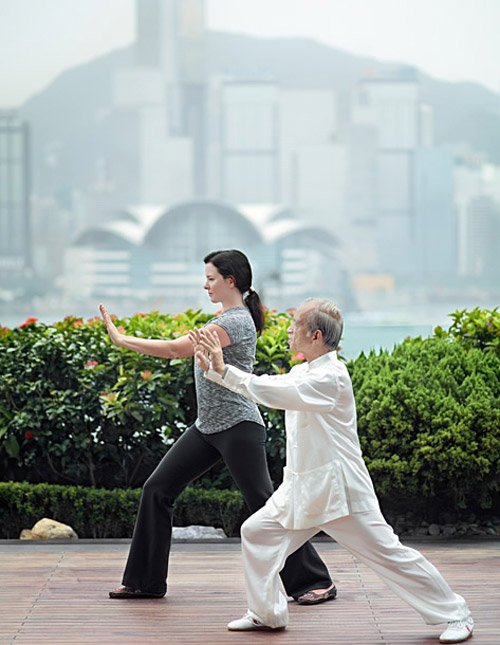 Take a Tai Chi Class in Hong Kong