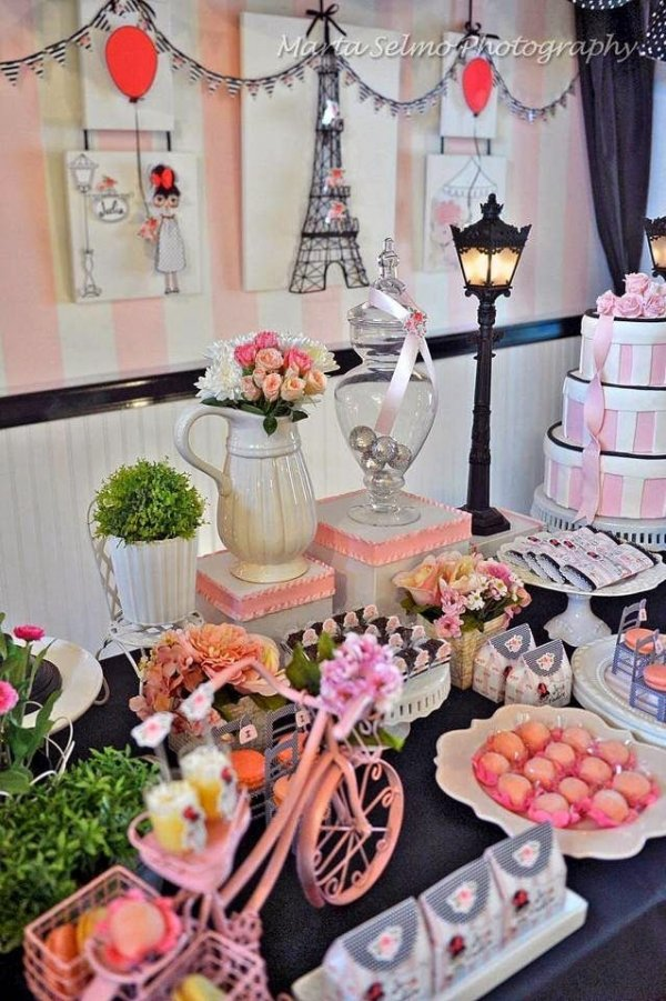 J 39 adore paris 91 stunning tablescapes you won 39 t be able to - French themed table decorations ...