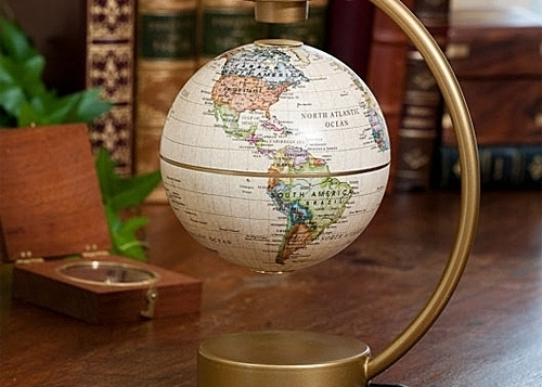 Floating Desktop Globe 19 Fun And Creative Gifts To Give