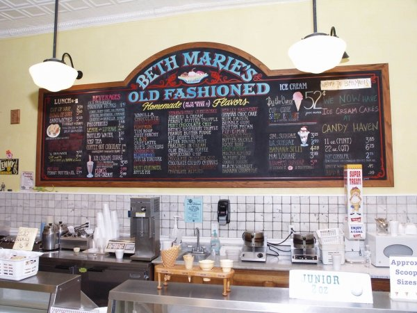 Beth Marie's Old Fashioned Ice Cream, Denton, Texas