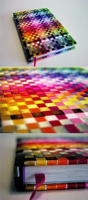 Cool Book Covers Diy ~ Ribbon book cover crafts from lengths and