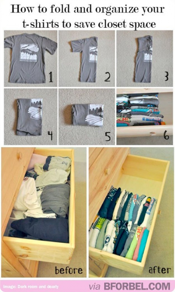How to save Some Closet Space