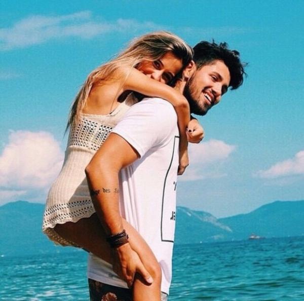 person, vacation, fun, woman, kiss,