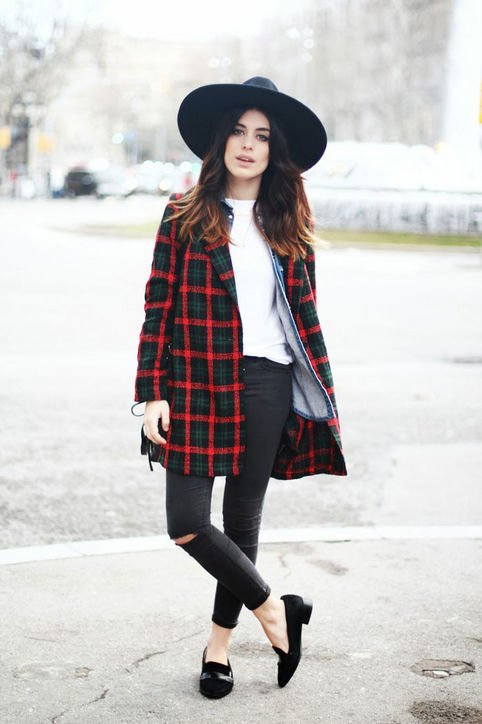 A Plaid Jacket
