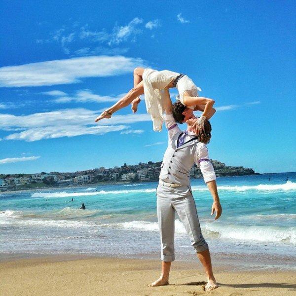 On Famous Bondi Beach, Sydney, Australia