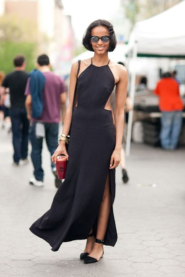 Classic Black Dress 42 Picture Perfect Summer Street Style Looks