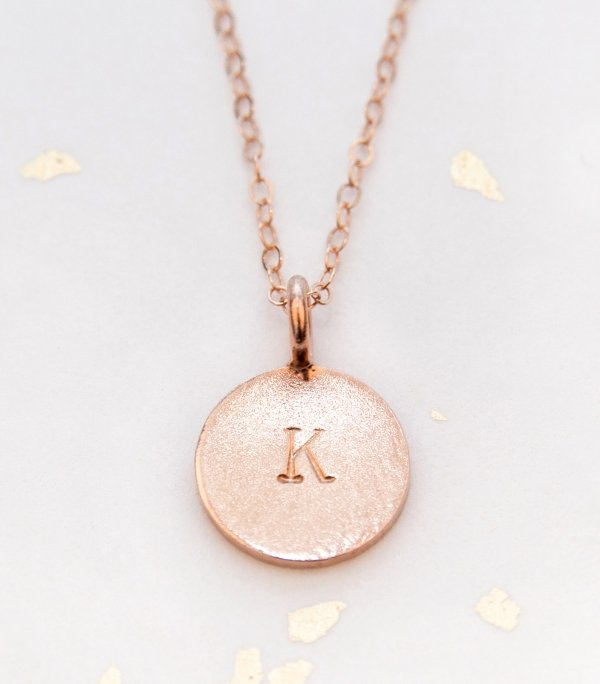 Bridesmaid Initials Necklace
