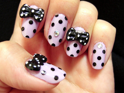Embellishments 9 awesome nail art trends makeup give your nails a 3d effect by gluing on some embellishments prinsesfo Images