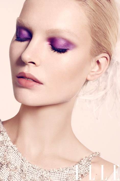 Wedding Makeup Looks For Pale Skin : Purple Eyeshadow - 7 Tips to Wear Bright Makeup for Summer