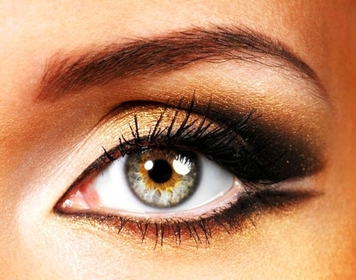 Eye makeup for hazel eyes